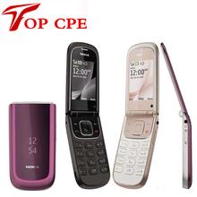3710 original Nokia Flip 3710 unlocked Refurbished cell phone 3G 3.2MP Camera bluetooth free shipping(China (Mainland))
