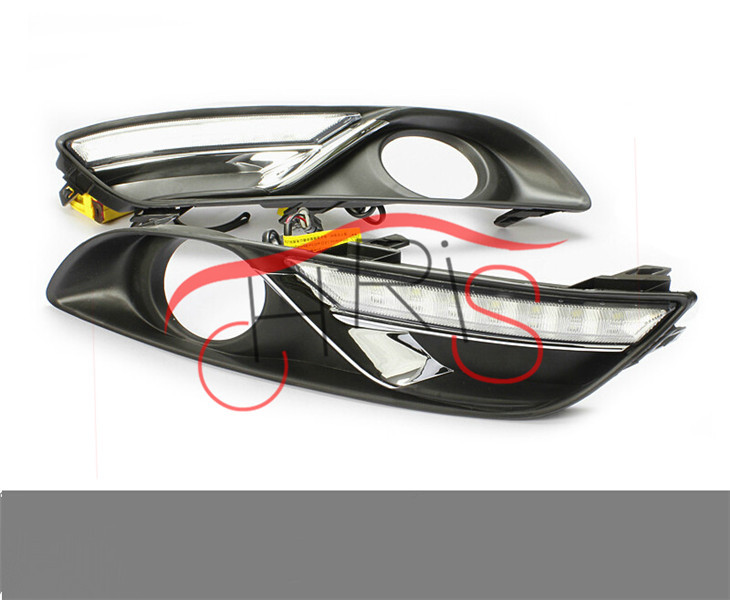 LED Daytime Running Light LED DRL light   For .Nissan Sylphy  2012~2014 Freeshipping<br><br>Aliexpress