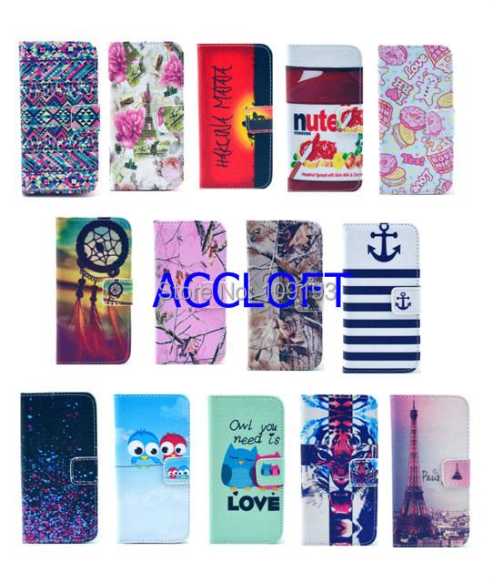 Здесь можно купить  10pcs/lot S3 Flower MATATA Cute Owl Case For Samsung Galaxy S3 SIII  i9300  Flip PU Leather Case Wallet Card Holder Cover Case  Телефоны и Телекоммуникации