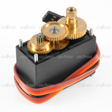 New High Speed Servo Motor MG995 Metal Gear High Torque For RC Helicopter Car Airplane Free Shipping & Drop Shipping(China (Mainland))
