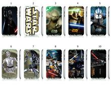 Mobile Phone Case Wholesale 10pcs/lot star Wars Movie Protective White Hard Case Cover For Ipod Touch 4 4th Free Shipping