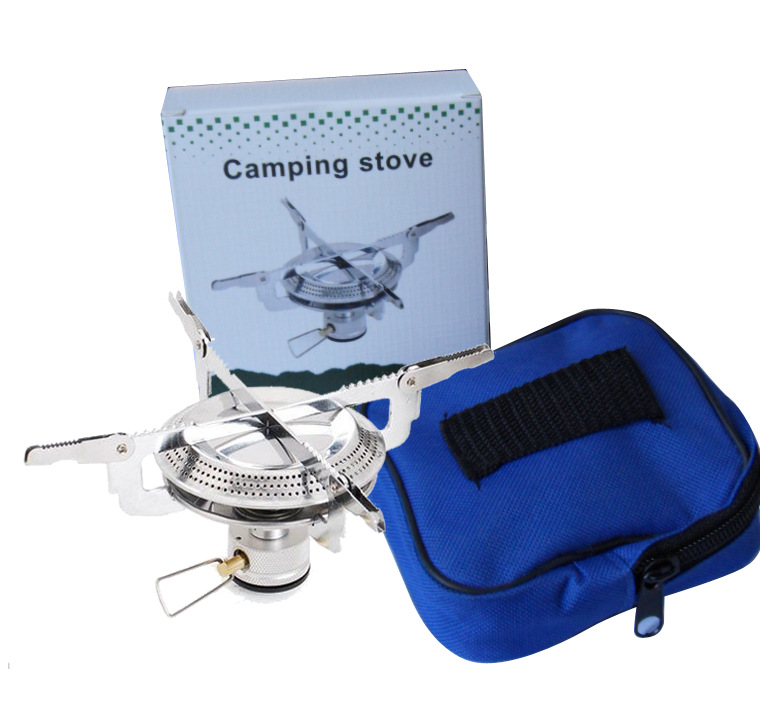 Poratable folding outdoor stove cookware gas burner font b camping b font stove for hiking picnic