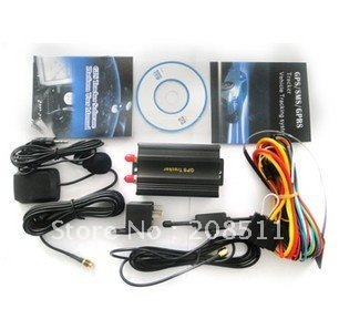 GPS tracker Tk 103 , Vehicle GPS Tracker tk103 , car GPS Tracker tk-103 ,GSM SMS GPRS Tracking Device Free Shipping DHL/EMS