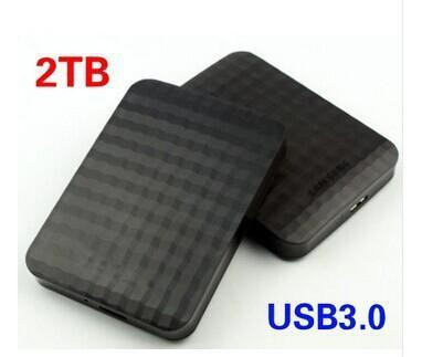 "Hard disk M3 2 TB 2.5 ""2.0 Portable USB Hard Drive HDD Black External Hard drives 3 Year giant free shipping(China (Mainland))"