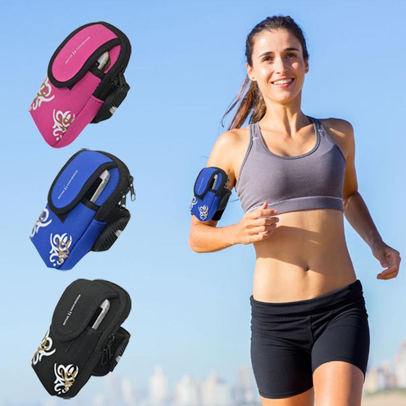 Run gym cycle walking sport pouch arm phone bags case sony xperia z5 z4 z3 z2 z1 premium nylon waist belt pocket wallet - NO.1 Genuine Electronics Store store