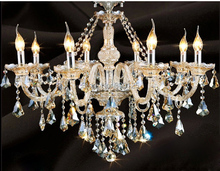 Modern Crystal Chandelier Light Fixture Living Room Crystal Chandelier Lighting Guaranteed 100%+Free shipping!(China (Mainland))