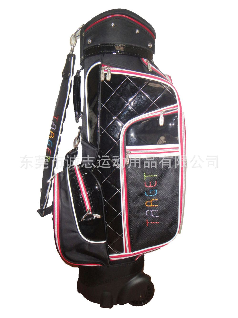 Dongguan wholesale professional production and supply of high-end custom golf bags female models nylon wheel(China (Mainland))