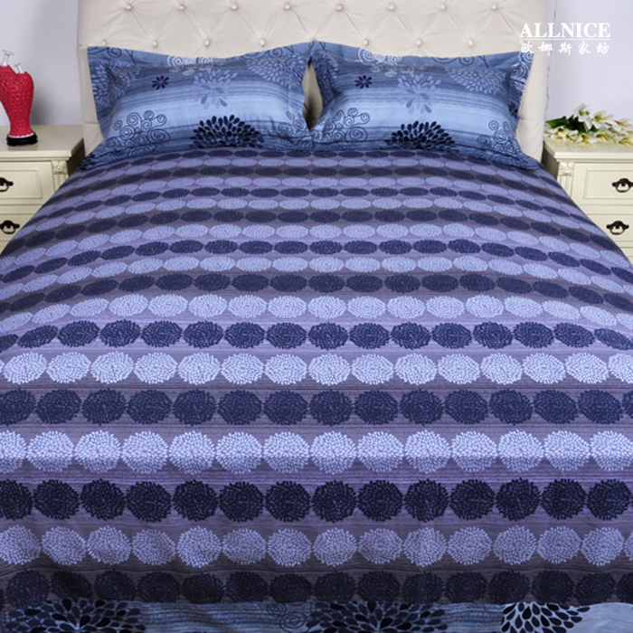 Home Textile Bed Sheets Cotton Sanded 100 Thickening Ink