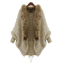 2016 new autumn winter Women's Large Size cardigan Loose sweaters cardigan fashion long knitted clothing knitwear