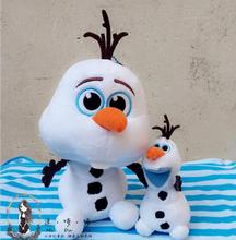New 20cm Q version Olaf Plush Toys  Movie and TV Dolls Soft Stuffed Animals Snowman Olaf Doll Birthday Gift for Children(China (Mainland))