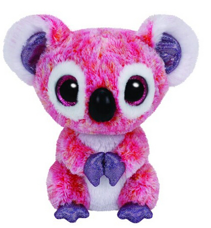 Beanie Boos KACEY - the Pink Koala - Regular 15cm Plush Toys