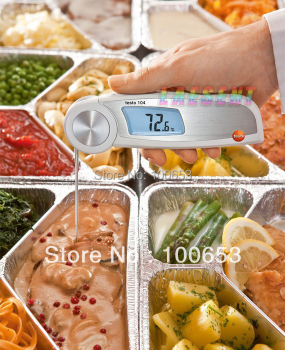 testo 104  Water-Proof Folding digital thermometer, free shipping<br><br>Aliexpress
