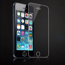 For iphone 5 Glass 0.26MM for iphone 5 Screen Protector for iphone 5 Screen Film 2.5d 9HTough for iphone 5c Tempered Glass