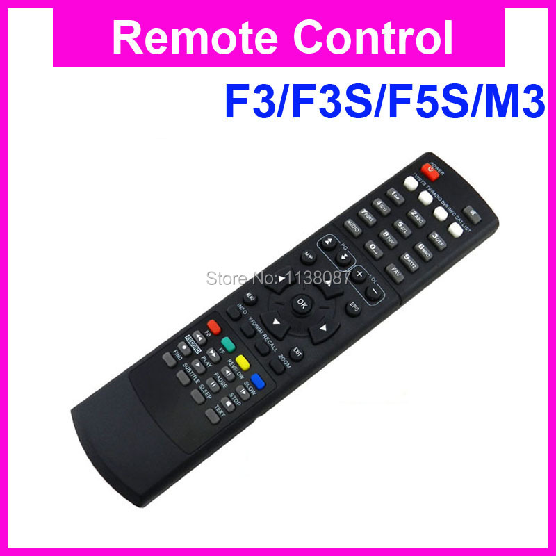 Remote control for Original Skybox F5S F4 F3 M3 Satellite receiver box free shipping post 5pcs/lot(China (Mainland))