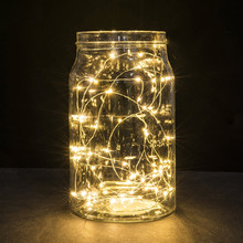 Buy Kingko 2M 20LED Button Cell Powered Silver Copper Wire Mini Fairy Lighting String e61201 for $1.21 in AliExpress store