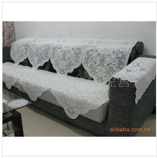 Free Shipping Supply Net Sofa Cloth Lace Sofa Cushion