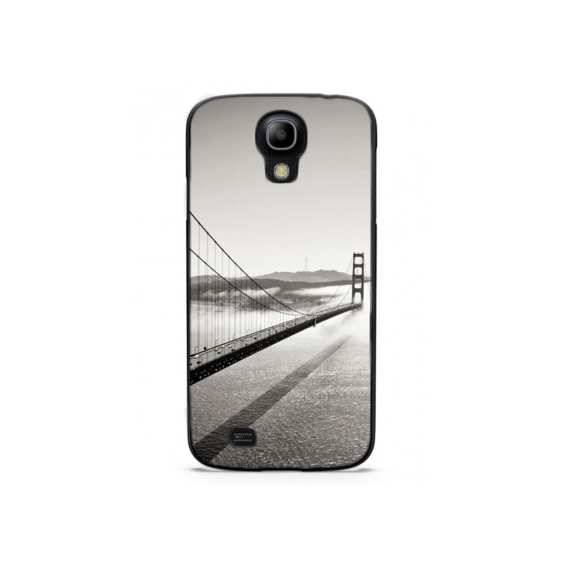 Black And White San Francisco Golden Gate Bridge Plastic Protective Shell Skin Bag Case For Galaxy i9500 Cases Hard Back Cover(China (Mainland))