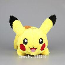 "EMS 20 Pcs/Lot 12"" 30CM Pokemon Pikachu Plush Toy Dolls High Quality Stuffed Animals Soft Toys(China (Mainland))"