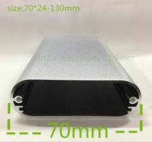 100pcs Mobile power supply case Aluminum enclosure 70 24 130 Aluminum box