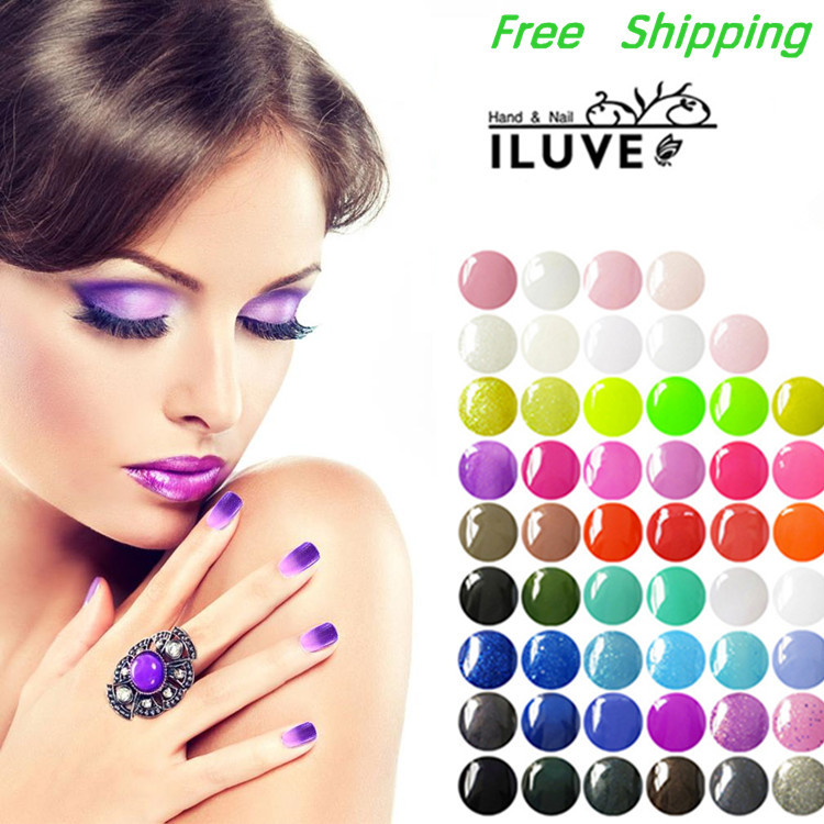 iLuve 15ml 0.5oz Soak Off UV Gel Nail Polish Wholesale Price (Chose 10 From 199+NEW Gelishgel 35 Colors) with FREE Remover Wraps<br><br>Aliexpress