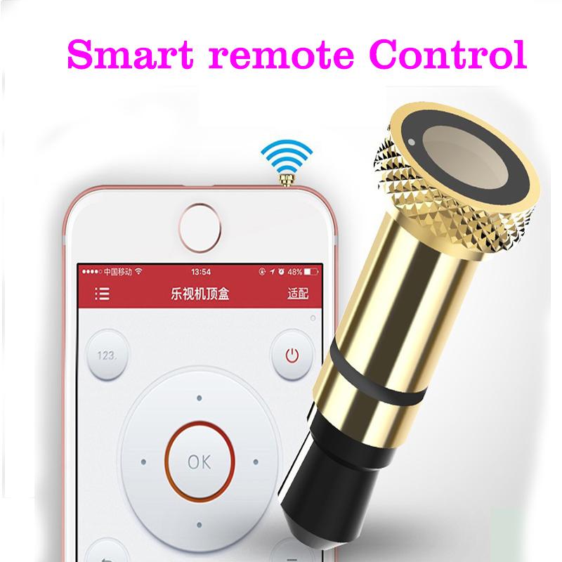 Smart IR Remote Control Phone Earplug IR Remote IOS & Android xiaomi For Air Conditioner TV DVD Camera Wireless Remote Control(China (Mainland))