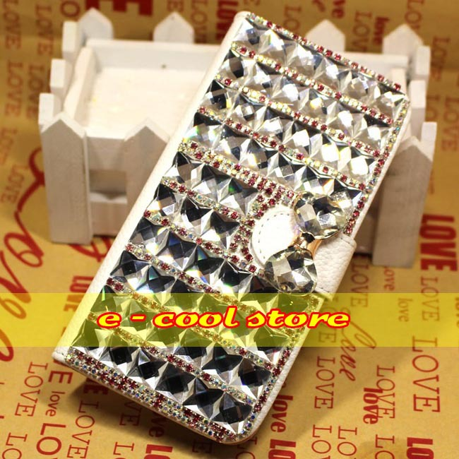 For HTC Desire 300 Case Cover,Handmade Bling Box Phone Case For HTC Desire 300(China (Mainland))