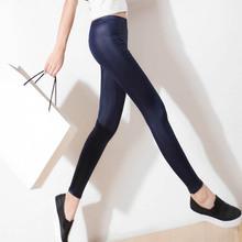 Women Faux Leather Slim Leggings Plus Size High Elastic Leggins Women Stretch Waist Pants S-XXXL HB88(China (Mainland))