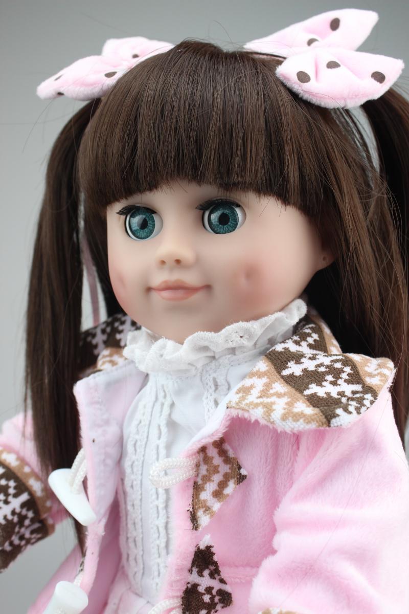 Pretty American Girl Doll NPK Brand 45cm Princess Dolls In ...