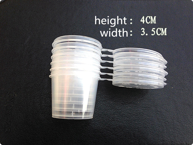 Mini Portable Folding Cup 8 PCS/Set Outdoor Camping Picnic Cup Necessary Barbecue Tools Plastic Condiment Sauce Salt Cup(China (Mainland))
