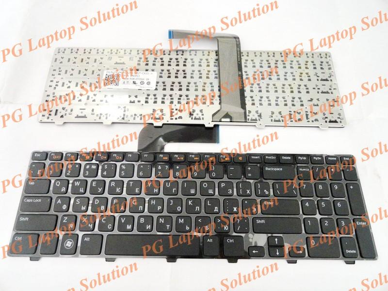 2pc/lot Russian RU Keyboard for Dell 15R N5110 M5110 N 5110 M511R M501Z Black