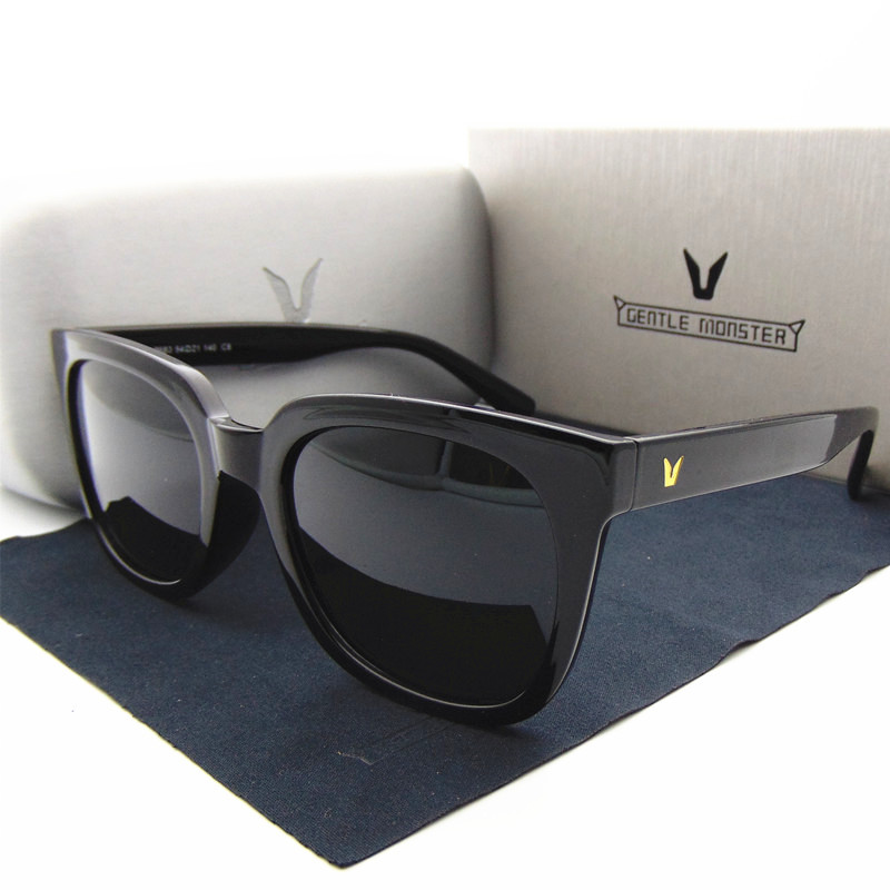 new Korea popular v Brand Designer polarized sunglasses men and women fashion sun glasses Vintage Square Frame With original box(China (Mainland))