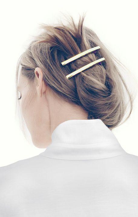 New Metal Geometry Fashion Joker Hair pin & clip hair accessory women's fashion spring bobby hair wear Punk Jewlery(China (Mainland))
