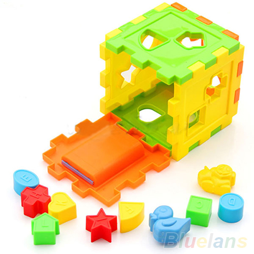 Kid Educational Play Games Animal Shape Alphabet Block Cube Toddler Baby Toy 1VLF(China (Mainland))