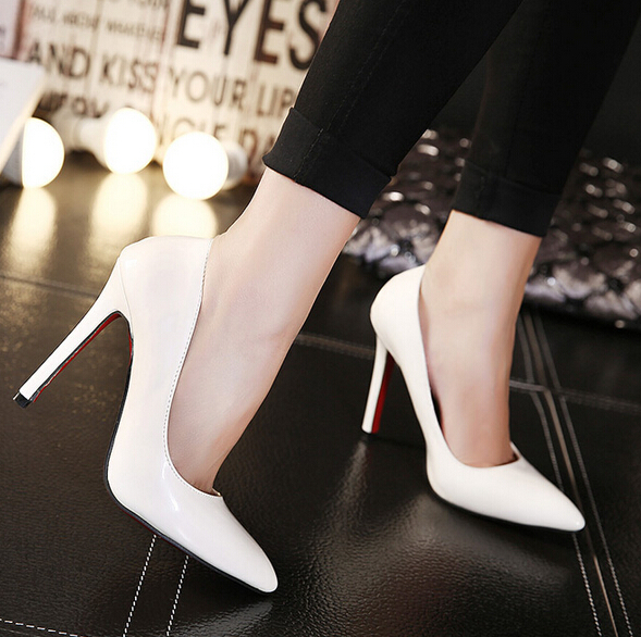 Classic fashion women shoes red bottom High heel Party shoes Ladys sexy stiletto valentine High heels