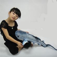 75cm Stuffed Simulation Leopard Shark Stegostoma fasciatum Animals Cushion emulation plush soft Pillow