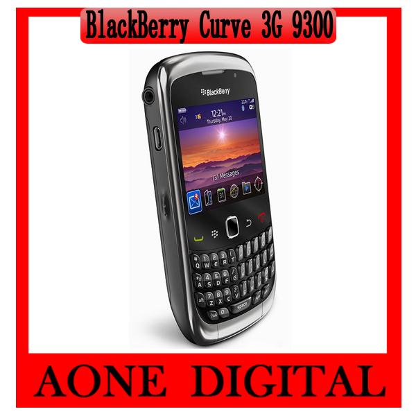 Original Refurbished Blackberry Curve 9300 3G Wifi GPS Smart Mobile Phone(China (Mainland))