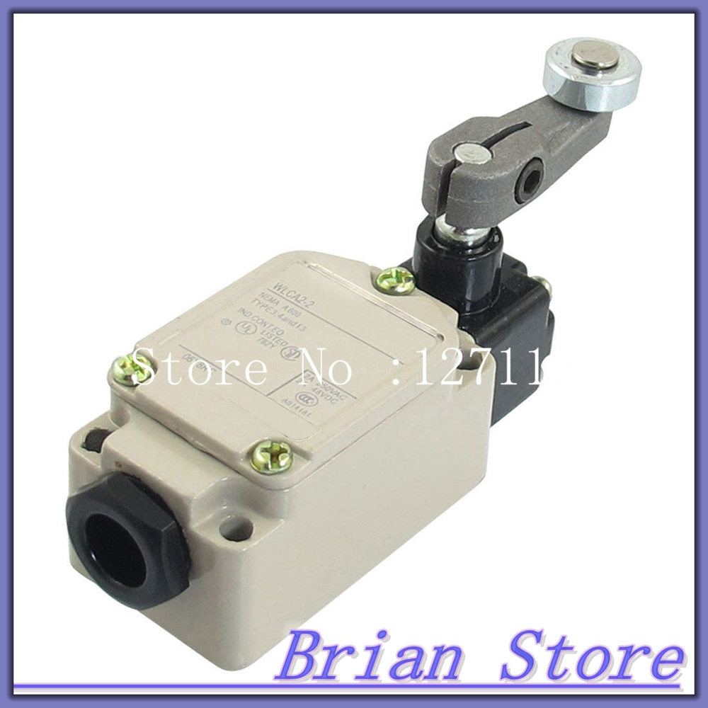 AC 250V 2A DC 2A 48V SPDT Circuit Control Roller Lever Metal Limit Switch<br><br>Aliexpress