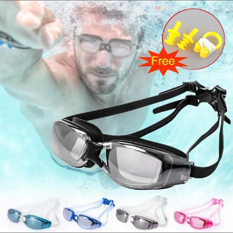 Professional Electroplating Swimming Goggles Waterproof Glasses Unisex(China (Mainland))