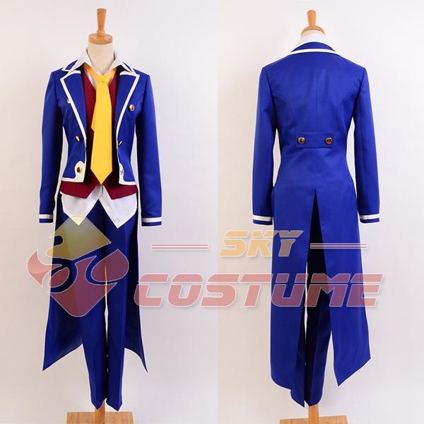 No Game No Life Sora Noble Uniform Outfit Full Set Halloween Movie Cosplay CostumeÎäåæäà è àêñåññóàðû<br><br>