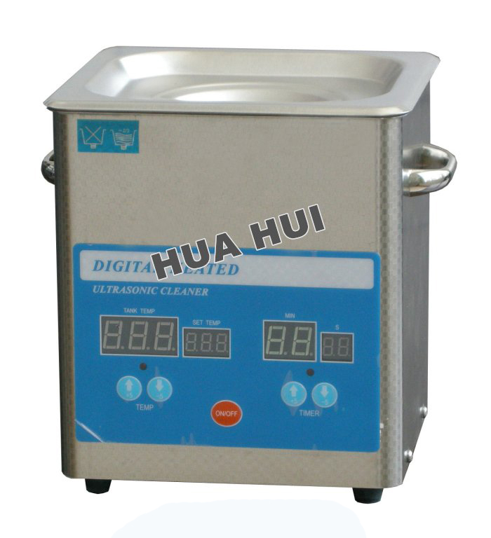 Digital Heated Ultrasonic Cleaner 1.6L 50W , Jewellery Cleaning Machine(China (Mainland))