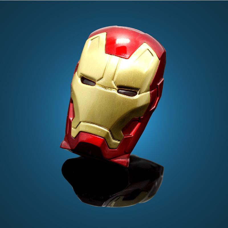 64GB 8G 16G 32G Flawless Avengers Iron Man LED Flash 2G 4G USB Flash 2.0 Memory Drive Stick Pen/Thumb(China (Mainland))