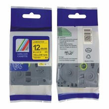 Free shipping mixed TZ tape offered TZ-231 TZ-431,TZ-531,TZ131,TZ 631,12mm TZ label tape for p touch brother p touch tape
