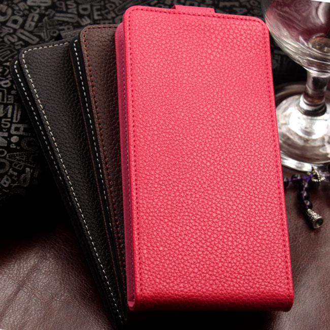 Hot Sale Case For ZTE Blade AF3 ,Litchi Leather Cover For ZTE Blade AF3 Magnetic Case With Card Holder(China (Mainland))