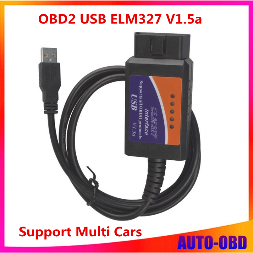 Гаджет   Top rated ELM327 Interface USB OBD2 Auto Scanner V1.5 OBDII OBD 2 II elm327 usb Super scanner best price top selling  None Автомобили и Мотоциклы