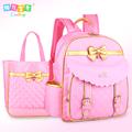 Coolbaby child school bag girls backpack primary school students 1 3 6 girl school bag burdens