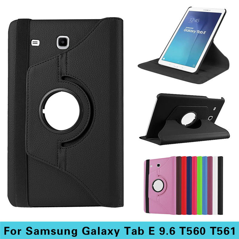 Tablet Cover Case For Samsung Galaxy Tab E T560 T561 9.6 inch Tablet PC Pouch PU Leather Cover Tablet Accessories Stand Cover(China (Mainland))