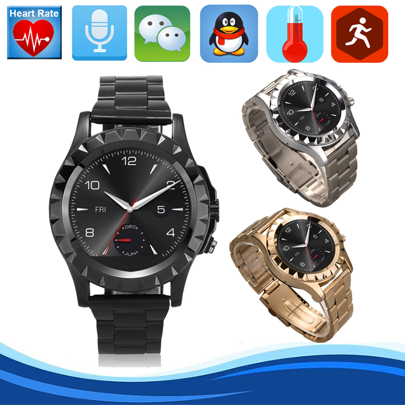 S2 Bluetooth Smart Watch For iPhone Samsung Huawei IOS Android smart phone IP67 WaterProof Fitness Tracker Pedometer Smartwatch