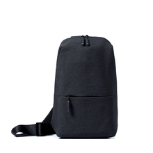 Buy Original Xiaomi Backpack urban leisure chest pack Men Women Small Size Shoulder Type Unisex Rucksack camera DVD phones for $18.49 in AliExpress store