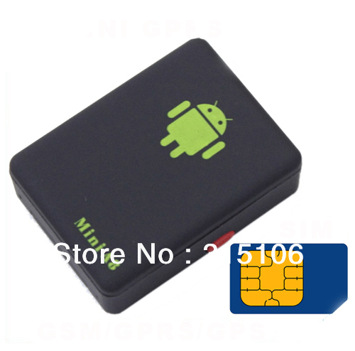 Free Shipping Mini A8 GPS Tracker Global Real Time GSM / GPRS Security Tracking Device SMS/SOS(China (Mainland))