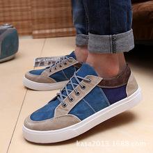 Sale Men Shoes 2015 Fashion Sneakers Shoes Men Casual Shoe Men Flats Low Men Sneaker Patchwork
